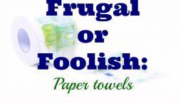 Paper towels, cheap paper towels, expensive paper towels