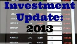 Investment update, stock exchange, investments, investment activities