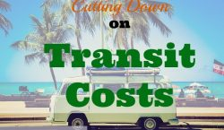 transit costs, transportation, saving money