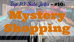 Mystery Shopping, mystery shopper, side job, extra income
