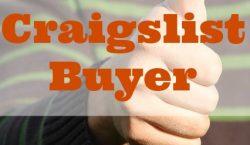good Craigslist buyer, Craigslist, buyer, seller