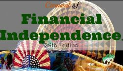 Carnival of Financial Independence, financial freedom, financial independence, money, saving money