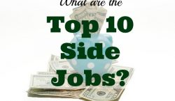 top 10 side jobs, extra income, paying off debt, financial goal