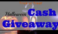 Halloween Cash Giveaway, halloween contest, trick or treat