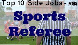 Sports Referee, side job, sports