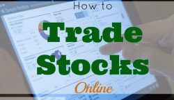 trade stocks online, stock market, trading, dividend stocks