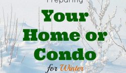 Preparing your home or condo, winter readiness, winter-proof home