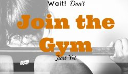 Join the Gym, gym membership