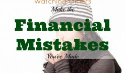 Financial Mistakes, struggle with money