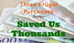 Frugal Purchases That Have Saved Us , frugal living