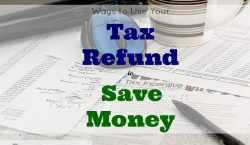 Ways to Use Your Tax Refund, extra money
