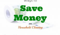 Save Money on Household Cleaning, household products, household supplies