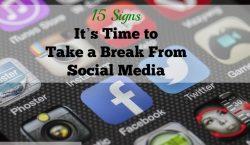 break from social media, digital detoxification, facebook, twitter, detoxifying