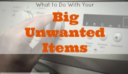 Big Unwanted Items, big furniture, big stuff