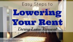 lease renewal, renting, renting a place, lowering rental options