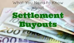 settlement buyouts, financial information, financial relief, financial status, money settlement