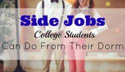 side hustle, side job, college life, part time job