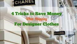 designer clothes, save money when shopping, save money shopping, frugal shopping