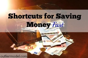 save money quick, save money fast, quick cash, saving money