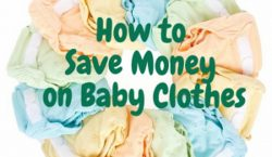 save money, save money on baby clothes, baby expenses