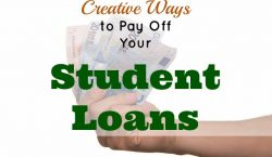 student loan, pay off student loan, pay off debt, student loan management, creative ways to pay off debt, pay off debt