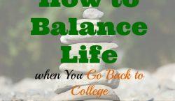 work-life balance, balance life, going back to college