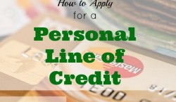 personal line of credit, applying for personal line of credit, line of credit