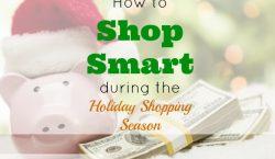 holiday shopping, smart shopping, seasons shopping