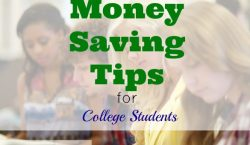 college tips, money saving tips, saving money