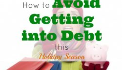 avoid debt, holiday tips, debt free shopping