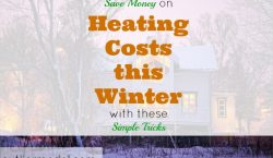 saving money, heating costs, winterizing