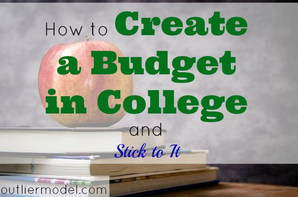 how to create and stick to a budget