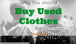 used clothes, kids clothes, frugal living