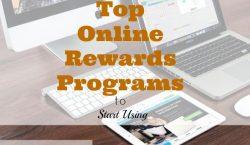 online rewards programs, top online rewards programs, using online rewards programs