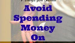 money tips, money advice, avoid spending money tips