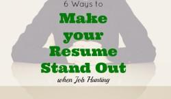 job hunting, resume, job tips