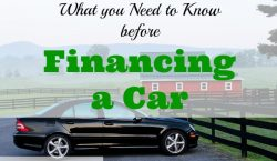 financing a car, tips on financing a car, financing a car advice