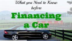 financing a car, tips on financing a car, financing a car advice
