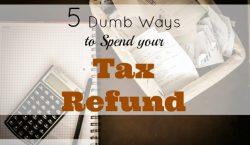 tax refund, spending tax refund tips, tax refund tips