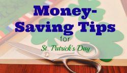 saving money tips, save money on Saint Patrick's Day, Saint Patrick's day saving tips