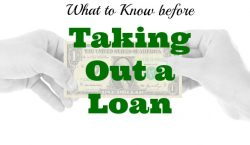 taking out a loan, tips before taking out a loan, loan advice
