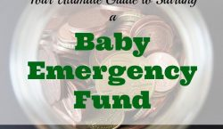 starting an emergency fund, baby emergency fund, how to build an emergency fund