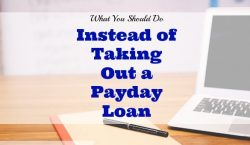 payday loan alternatives, other options to get a loan, loan options
