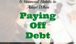paying off debt, financial habits, debt advice