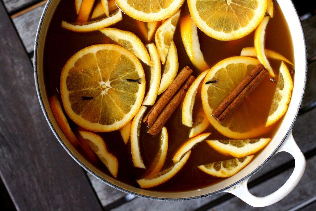 hot mulled cider, mulled cider, homemade mulled cider