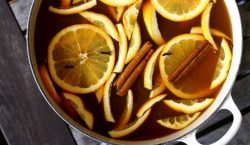 hot mulled cider, mulled cider, homemade mulled cider