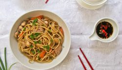 homemade chicken chow mein, chicken chow mein recipe