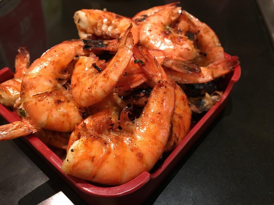Garlic Pepper Prawns