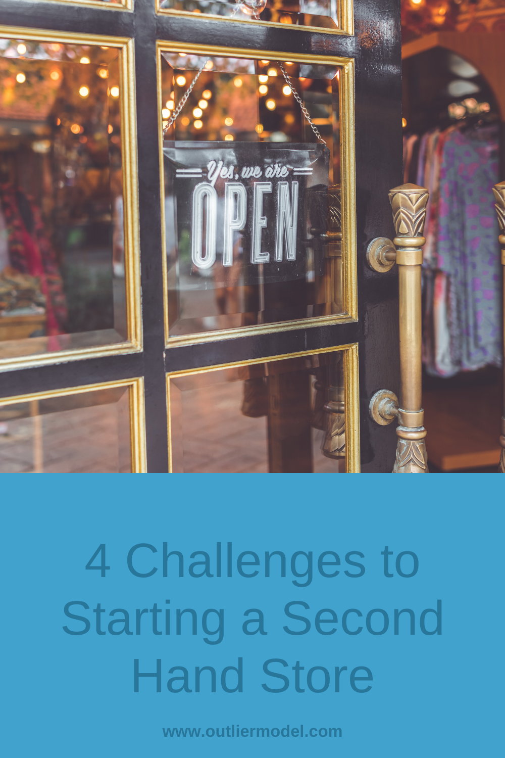 4 Challenges to Starting a Second Hand Store